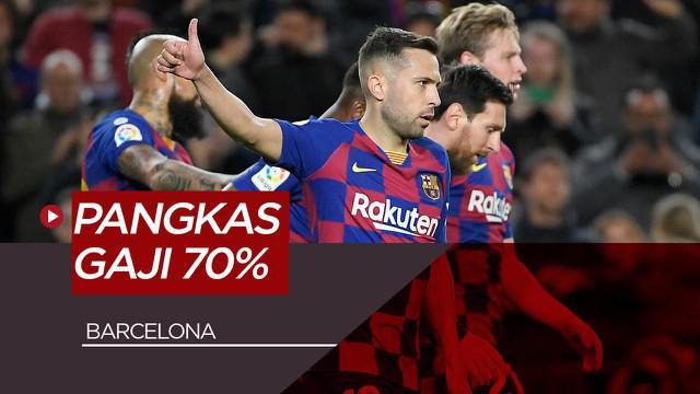 Berita Video Barcelona Jalin Kesepakatan Dengan Lionel Messi dkk, Potong Gaji Imbas COVID-19