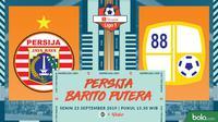 Shopee Liga 1 - Persija Jakarta Vs Barito Putera (Bola.com/Adreanus Titus)