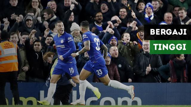 Siapa pemain Chelsea yang mendapatkan bayaran tertinggi?