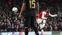 Nicolas Pepe jadi penentu kemenangan Arsenal atas Vitoria Guimaraes (AFP)