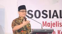 Wakil Ketua MPR, Ahmad Basarah dalam orasi kebangsaannya menyerukan Gerakan Melawan Lupa. Reformasi 1998 yang dimotori pemuda dan mahasiswa bersama rakyat yang salah satu tuntutannya adalah pemberantasan Korupsi, Kolusi dan Nepotisme (KKN).
