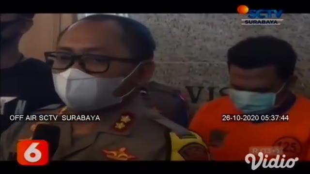 Dalam rekaman CCTV di sebuah apartemen wilayah Surabaya Barat, terlihat pelaku RZ (33) menganiaya seorang perempuan. Setelah dianiaya, korban yang bernama Anggriani sempat disekap karena khawatir lapor polisi.