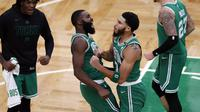 Jayson Tatum Bawa Celtics Bekuk Bucks di laga NBA 2020-2021 (AP)