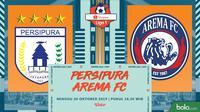 Shopee Liga 1 - Persipura Jayapura Vs Arema FC (Bola.com/Adreanus Titus)