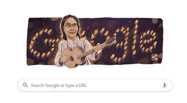 Google Doodle tampilkan penyanyi legendaris Chrisye. (Doc: Google)