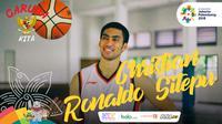 Garuda Kita Asian Games Christian Ronaldo Sitepu (Bola.com/Adreanus Titus)