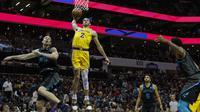 Lonzo Ball cetak triple double saat Lakers melawan Hornets (AP)
