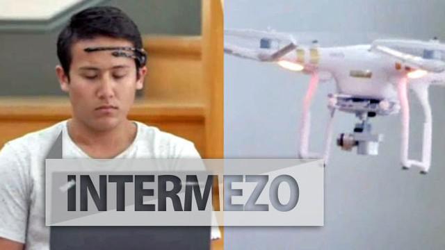 Jika biasanya drone digunakan dengan remote kontrol, maka berbeda dengan lomba drone yang satu ini. Para peserta kali ini dituntut mengendalikan drone dengan menggunakan otak.