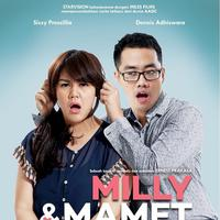 Poster film Milly & Mamet (Instagram: @mirles)