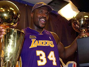 Foto NBA: 5 Pemain dengan Koleksi Titel Individu Terbanyak Sepanjang Sejarah NBA