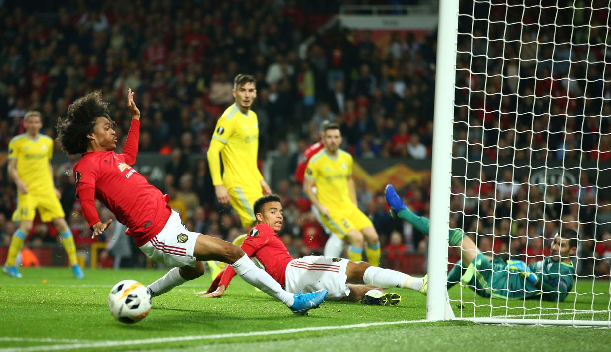 FOTO Manchester United Tekuk Astana Di Liga Europa Bola