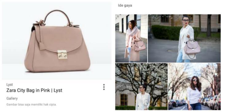 Dengan fitur terbaru Ide Gaya dan Item Serupa semua orang bisa mempunyai fashion stylist pribadi sesuai selera dan kantong