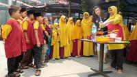 BSS Berbagi dengan Anak Yatim di HUT ke-74 RI. foto: istimewa