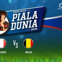 Pesta sepak bola Piala Dunia 2018 kini telah sampai di babak semi final. Di laga dini hari nanti, Perancis akan berhadapan dengan Belgia.