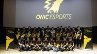 Tim olahraga elektronik profesional ONIC Esports mengumumkan perubahan logo, Selasa (6/8/2019). (Humas Onic Esports)