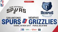 San Antonio Spurs Vs Memphis Grizzlies_2 (Bola.com/Adreanus Titus)