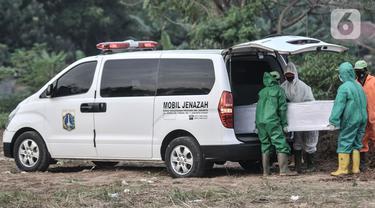 PSBB Transisi, Pemakaman Korban Covid-19 di TPU Tegal Alur Meningkat