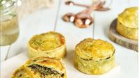 Viral, Nasi Padang Berbentuk Pie Dijual Online. (dok.Instagram @maryspastrylab/https://www.instagram.com/p/B4T1EkalRi5/Henry)
