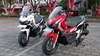 Honda ADV150. (Sigit / Liputan6.com)