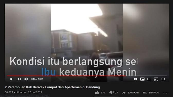 Gambar Tangkapan Layar Video dari Channel YouTube 24 TV