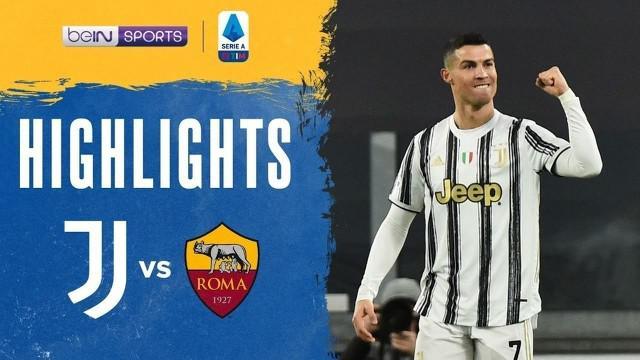 Berita video gol Cristiano Ronaldo dalam highlights laga kemenangan Juventus atas AS Roma 2-0 pada pekan ke-21 Liga Italia 2020/2021, Minggu (7/2/2021) dinihari WIB.