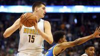 Big man Denver Nuggets, Nikola Jokic, akan berpartisipasi pada Skills Challenge NBA All-Star Weekend 2017. (Bola.com/Twitter/NBARegion)