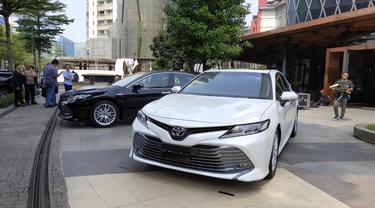 Tampilan Keren All New Toyota Camry (Arief A/Liputan6.com)