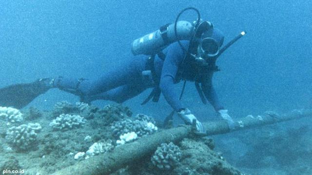 Kabel Laut Telkom Jayapura Putus