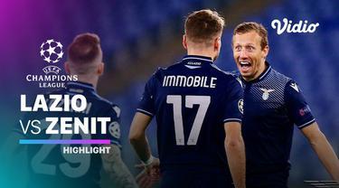 Berita video highlights matchday 4 Grup F Liga Champions 2020/2021, Lazio mengalahkan Zenit St Petersburg 3-1, di mana Ciro Immobile menorehkan 2 gol, Rabu (25/11/2020) dinihari WIB.