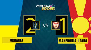 Berita Video, Ukraina kalahkan Makedonia Utara di matchday 2 Grup C Euro 2020