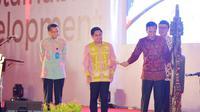 Presiden Jokowi Menutup AITIS 2016 di JIExpo Kemayoran, Jakarta, Sabtu (7/5/2016). (Tim Komunikasi Presiden)
