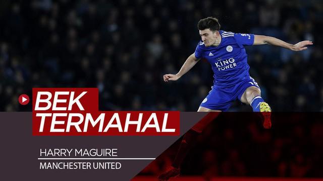 Berita video Manchester United resmi menggaet Harry Maguire dari Leicester City sekaligus menjadikannya bek termahal di dunia.