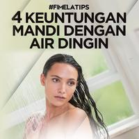4 Keuntungan Mandi dengan Air Dingin