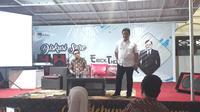 Erick Thohir digadang-gadangkan pantas menjabat sebagai Ketua Umum PSSI (Liputan6.com / Nefri Inge)