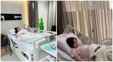 Sempat Nangis dan Panik, Ini 6 Momen Felicya Angelista Dirawat di Rumah Sakit