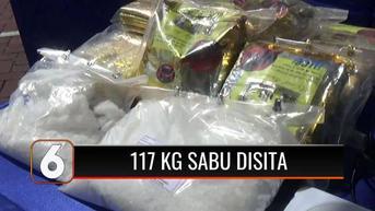 VIDEO: Jaringan Pengedar Narkoba Internasional Ditangkap, 117 Kg Sabu dan 1.000 Butir Ekstasi Diamankan