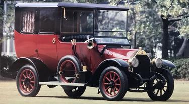 Mobil Pertama Mitsubishi yang Diproduksi Massal (Ist)
