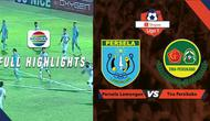 Berita video highlights Liga 1 2019, Persela Lamongan permalukan Tira Persikabo 6-1.