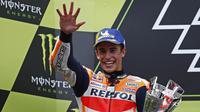 1. Marc Marquez (Honda) - 115 Poin. (AP/Eric Alonso)