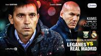 Leganes vs Real Madrid (Liputan6.com/Abdillah)