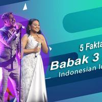 Berikut ini 5 fakta di balik babak 3 besar ajang pencarian bakat, Indonesian Idol 2018. (Foto: Nurwahyunan/Bintang.com, Desain: Nurman Abdul Hakim/Bintang.com)