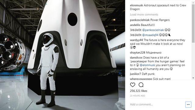 Pakaian Luar Angkasa Space X