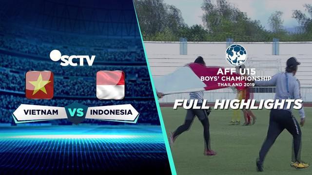 Berita video highlights Timnas Indonesia U-15 mengalahkan Vietnam U-15 lewat adu penalti 3-2 dalam perebutan tempat ketiga Piala AFF U-15 2019, Jumat (9/8/2019).