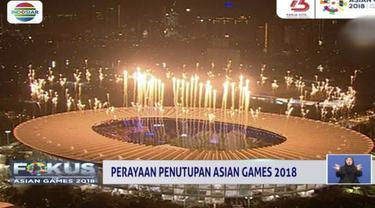 Upacara penutupan Asian Games 2018 akan mengusung tema terima kasih.