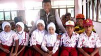 Dwi Murti pernah menjadi pengajar muda di Pulau Bawean, Kabupaten Gresik, Jawa Timur dan Kabupaten Fakfak, Papua Barat. (Arsip  Dwi Murti)
