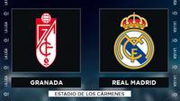 La Liga - Granada Vs Real Madrid (Bola.com/Adreanus Titus)