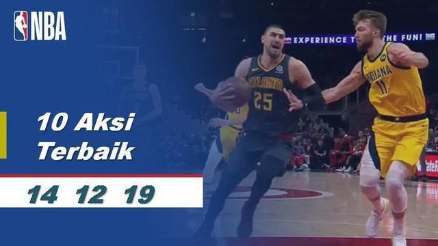 Berita Video 10 aksi terbaik NBA pada tanggal 14 Desember 2019