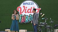 Najwa Shihab saat mengisi acara di BRIZZI Vidio Fair 2017