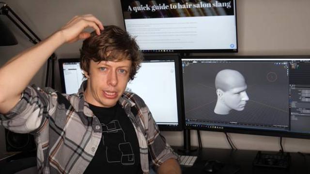 Robot Pencukur Rambut. Dok: Youtube/Shane of Stuff Made Here