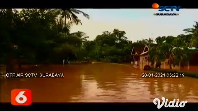 Banjir setinggi 1 meter pada (19/1) pagi, kembali merendam Desa Wonoasri, Kecamatan Tempurejo, Jember. Ratusan rumah di desa ini terendam air, dengan ketinggian hingga 1 meter. Tim SAR mengevakuasi warga setempat karena ketinggian air terus meningkat...